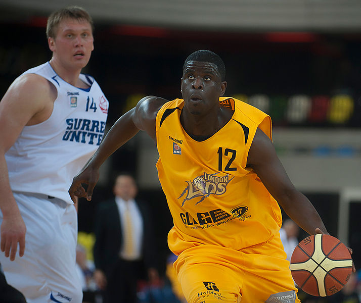 2014 British Basketball League - London Lions v Surrey United Basketball Mar 28th