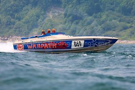 Warpath, B69, Fortitudo Poole Bay 100 Offshore Powerboat Race, June 2018, 20180610057