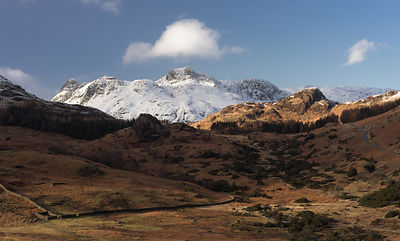 Langdale Pikes - Lake District Photography