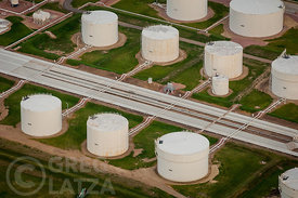 Gas Pipeline storage tanks