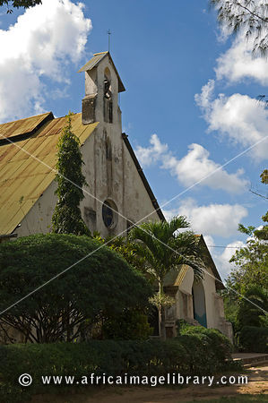 St Paul's church, site of the first Christian mission in East Africa, Rabai, near Mombasa, Kenya