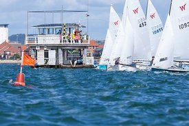 Wayfarer start, Zhik Poole Week 2015, 20150828003