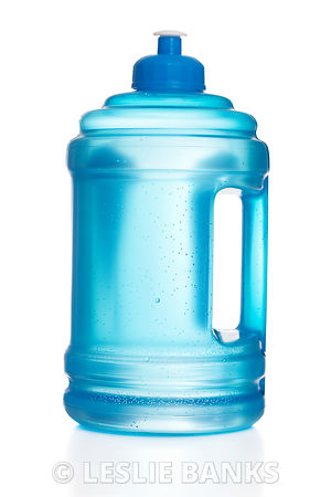 Blue Reusable Water Bottle