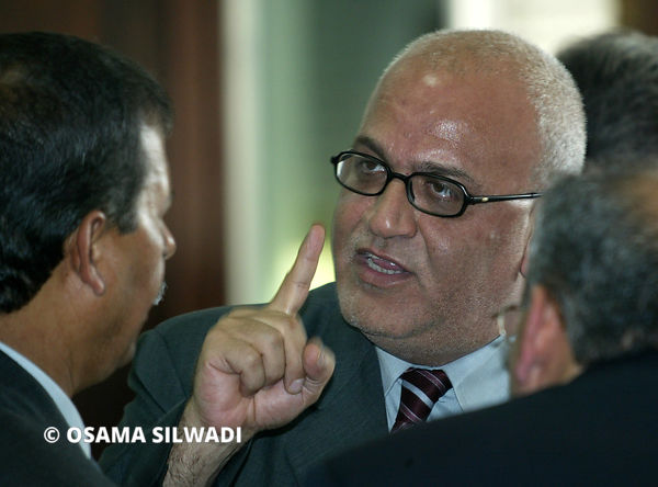 Saeb Erekat ..  Academic & politician.Secretary-General of the PLO, and member of Fatah Central Committee