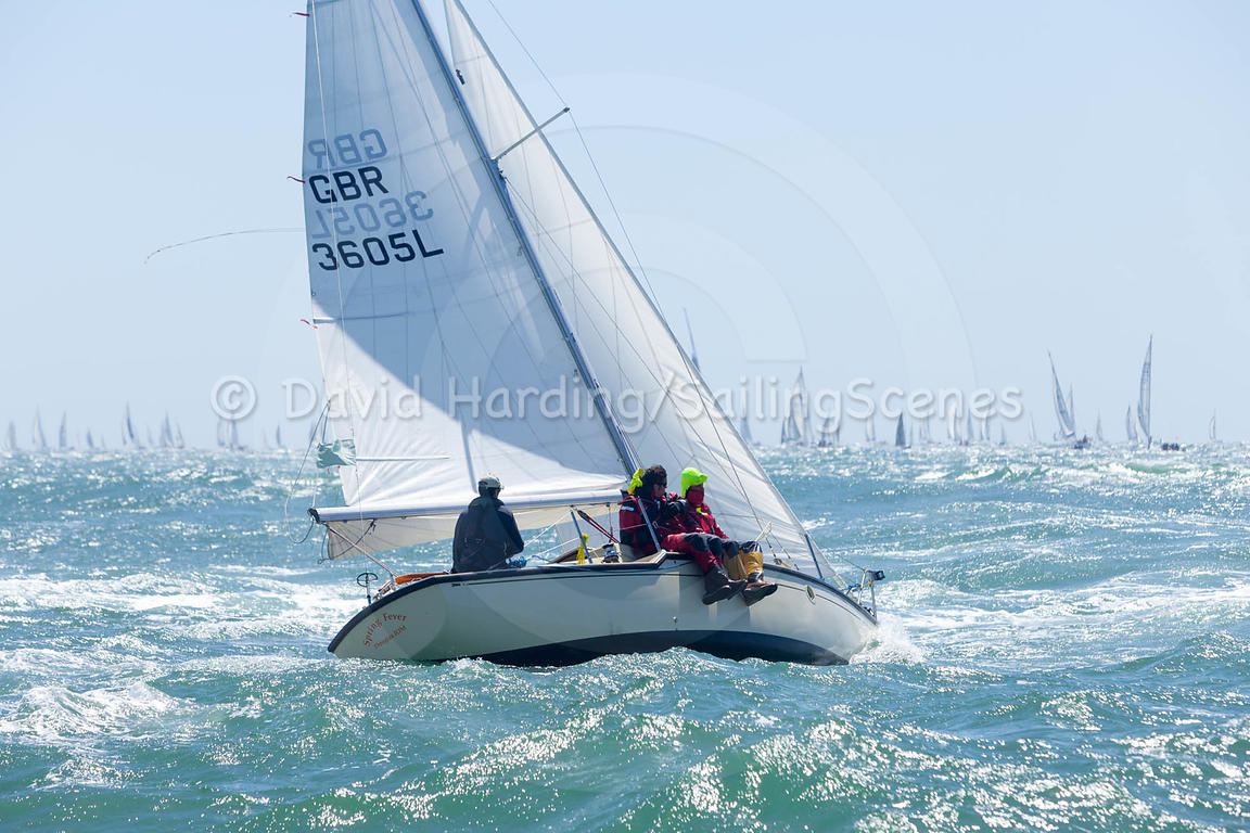 Spring Fever, GBR3605L, Hamble One Design, 20160702263