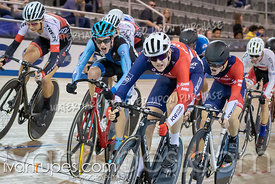 Junior Men Scratch Race. Ontario Track Championships, March 2, 2019