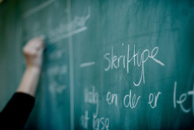 Danish schoolteacher at work 2