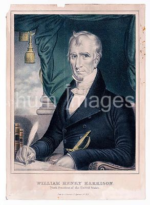 William Henry Harrison ninth President of the United States ca 1835-1856