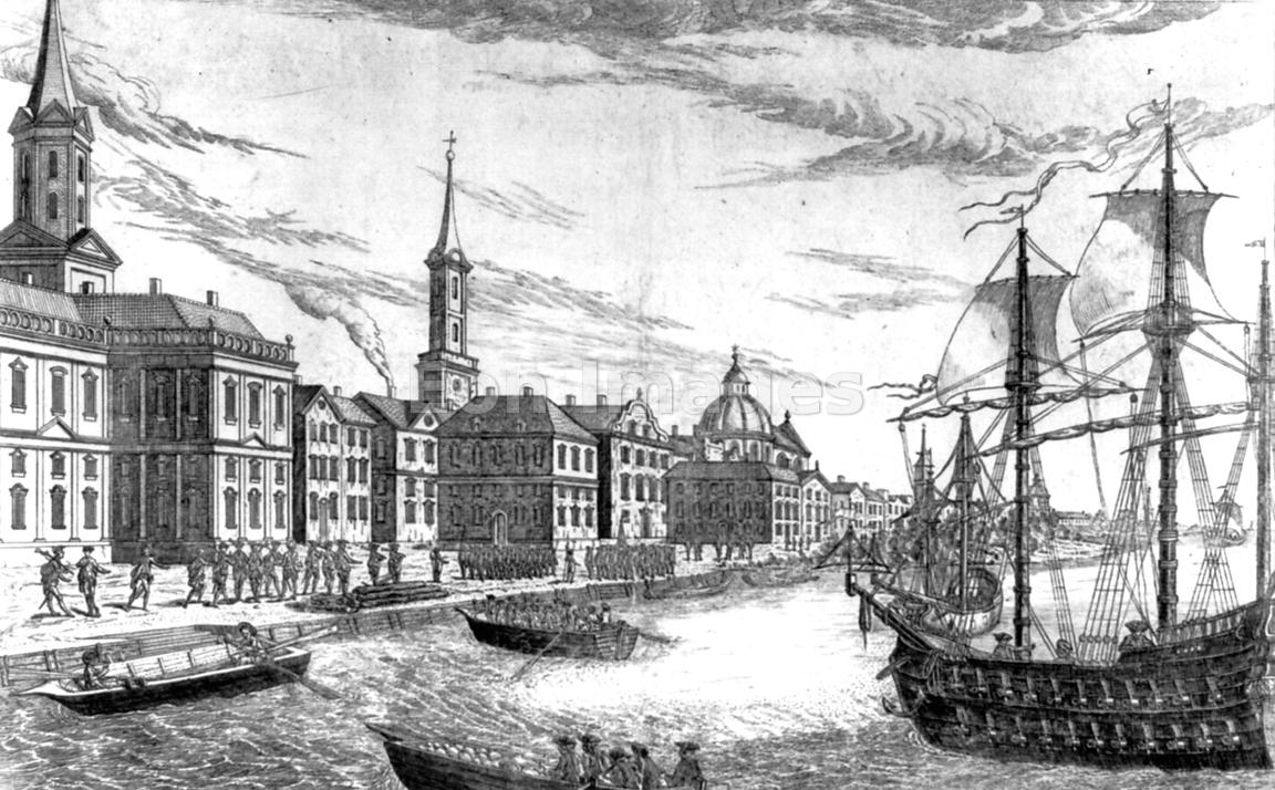 British troops arrive in New York City in 1776
