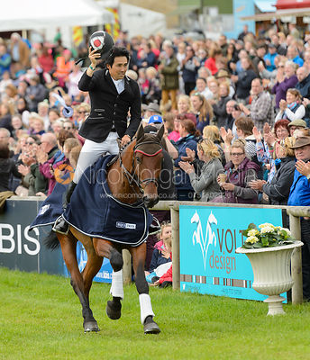 Yoshiaki Oiwa and CALLE 44 - Winners - Bramham International Horse Trials, June 2017
