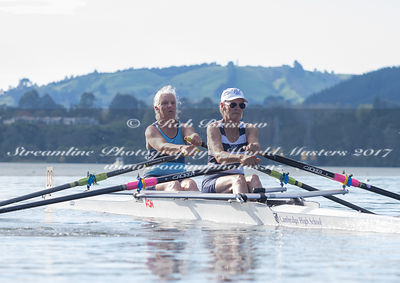 Taken during the World Masters Games - Rowing, Lake Karapiro, Cambridge, New Zealand; ©  Rob Bristow; Frame 504 - Taken on: T...