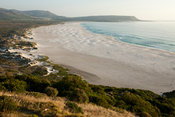 Long Beach seen from Chapman's Peak drive, Noordhoek, Cape Town, South Africa