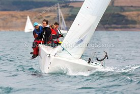 Mini Mayhem, GBR9063T, Melges 24, Weymouth Regatta 2018, 20180908156.