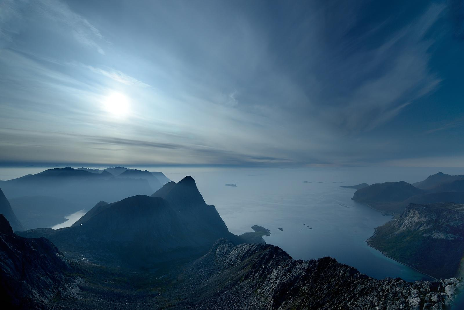 The blue mountain, Senja