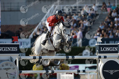 Laura KRAUT ,(USA), ZEREMONIE during Longines Cup of the City of Barcelona competition at CSIO5* Barcelona at Real Club de Po...