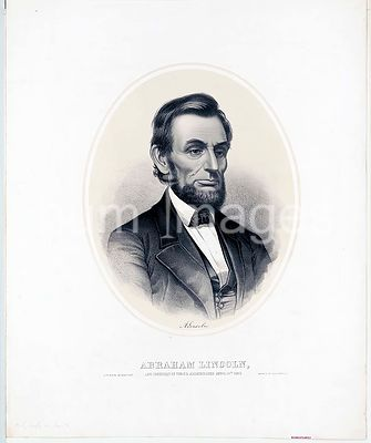 Abraham Lincoln, late President of the U.S. assassinated April 14th. 1865