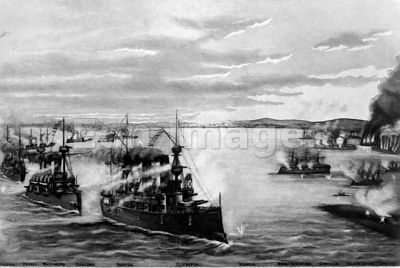 Battle of Manila during Spanish-American War