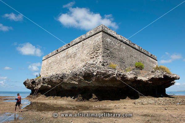 17th century fort on Sao Laurenco island, Ilha do Mocambique, Mozambique