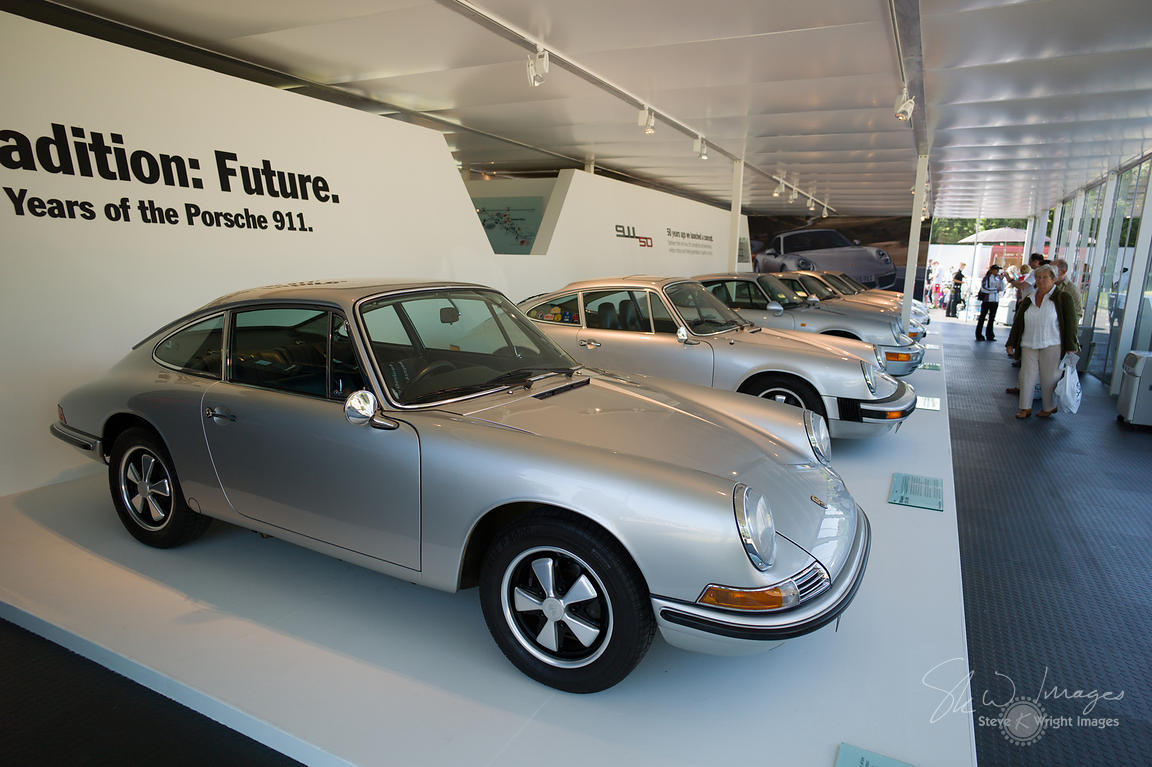 Tradition: Future. Celebrating 50 Years of the Porsche 911 - Goodwood Festival of Speed 2013