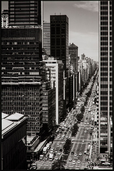 Park Ave. from Waldorf Astoria 1998