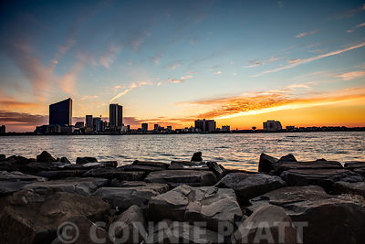 Sunset from Brigantine Jetty