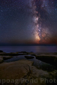 Milky Way Rising Over Schoodic Peninsula