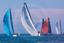 Ino XXX, GBR4921R and Pegasus DekMarx, FRA76, Poole Regatta 2018, 20180527620