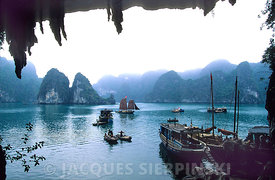 Vietnam, baie de Ha-long