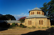 St. Peter's Cathedral , built 1905, Likoma Island, Lake Malawi, Malawi