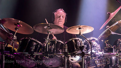 Ian Mosley, drums, Marillion, Friday evening, Montreal, 2015