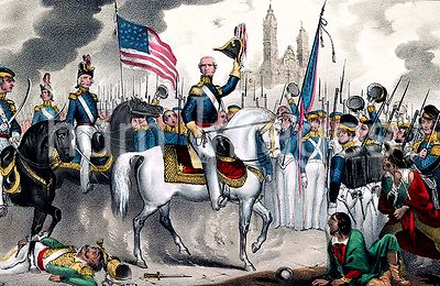 General Scott grand entry into the city of Mexico, Sept. 14th, 1847