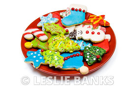 Iced Christmas Cookes
