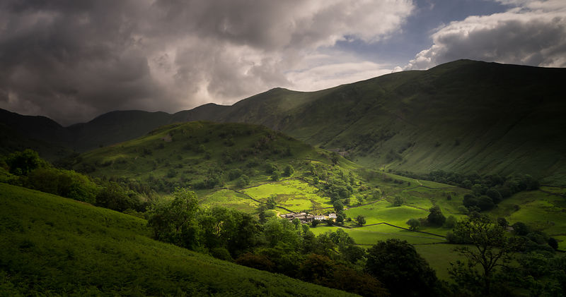 Troutbeck valley early summer