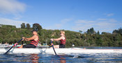 Taken during the World Masters Games - Rowing, Lake Karapiro, Cambridge, New Zealand; ©  Rob Bristow; Frame 1322 - Taken on: ...