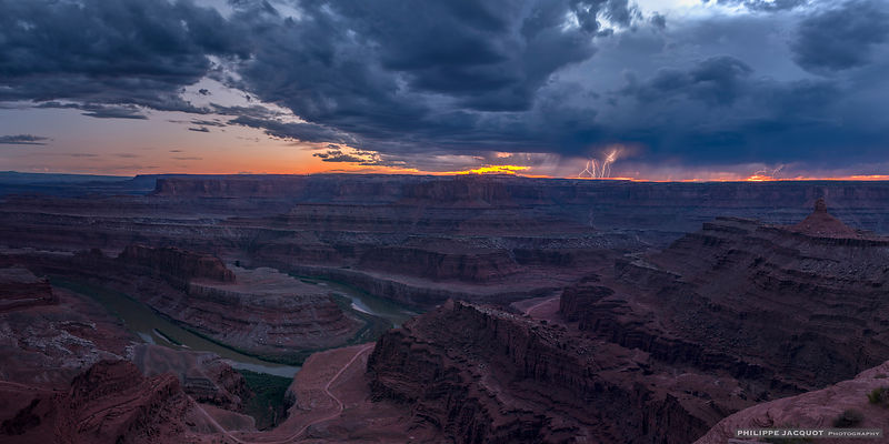 Storm at Dead Horse Point - Utah