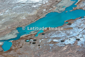 Sinkholes In Northern Dead Sea Area, Dead Sea