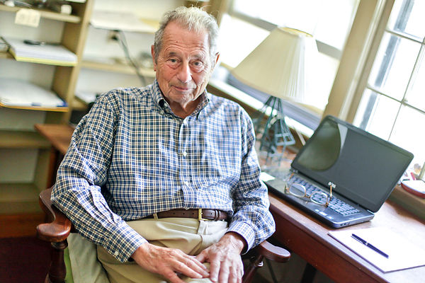 8/8/12-Dr. Jerome Kagan at his Cape Cod, Massachusetts home