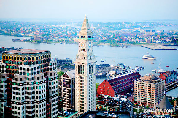 CUSTOM HOUSE TOWER BOSTON DOWNTOWN COLOR