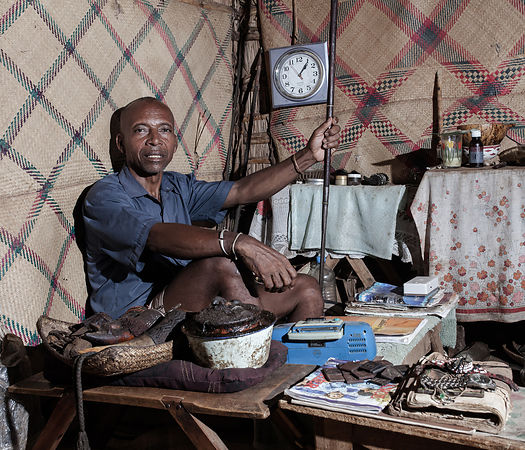 BEKINAGNA AMBONE LOCALITY- Mr EMANINTSIDRAZA is a diviner-healer (Mpimasy), married to three women, father of 9 children and ...