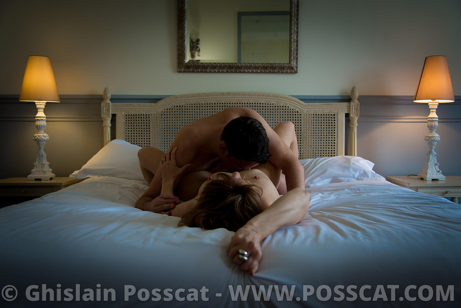 Shooting photo couple nu erotique-Photographe couple érotique