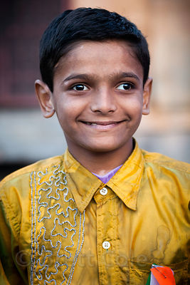 Muslim boy in Jodhpur, Rajasthan, India