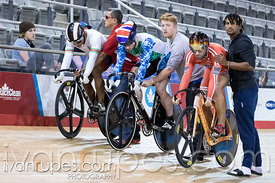 Men Keirin 1-6 Final. Milton International Challenge, Mattamy National Cycling Centre, Milton, On, October 1, 2016