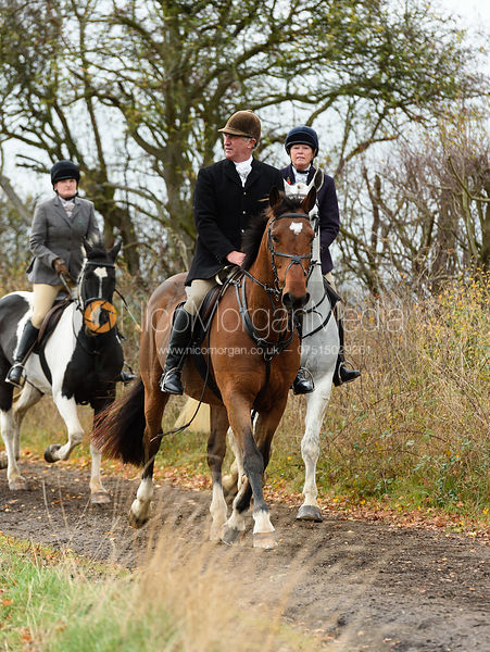 Peter Cooke. The Cottesmore Hunt at Somerby