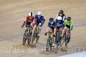 Women Keirin 1/2 Finals. Track Ontario Cup #2, January 13, 2019