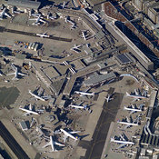 Airport Activity aerial photos
