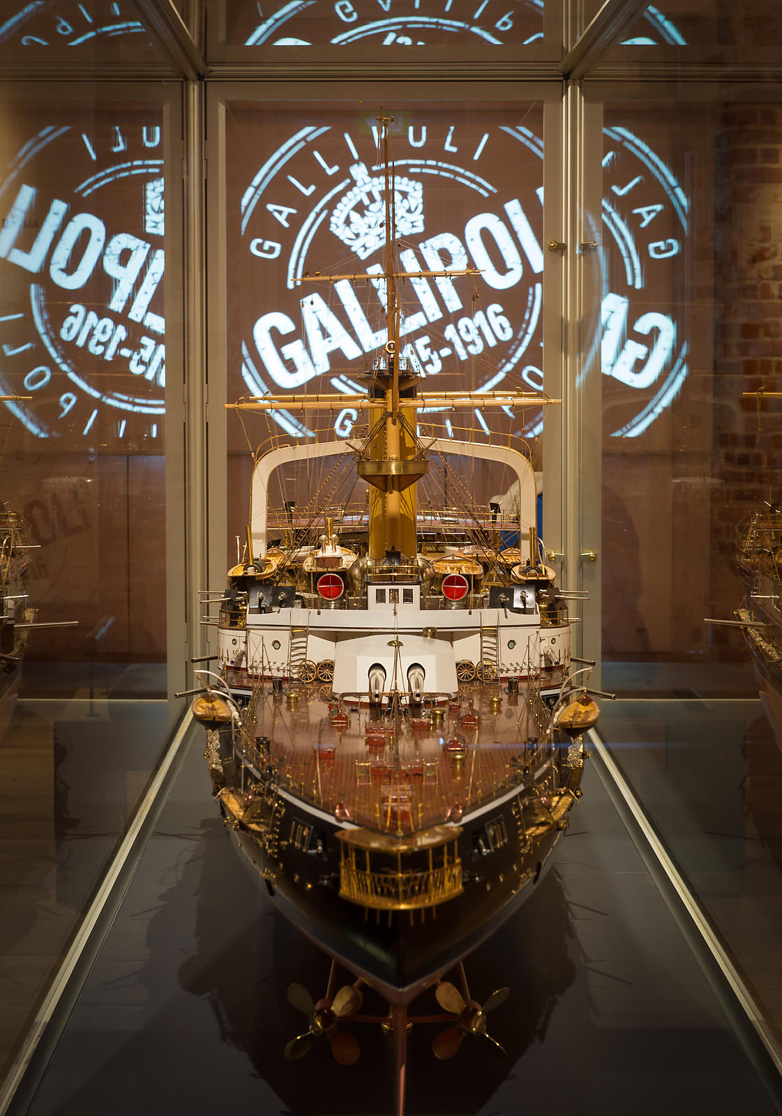 Gallipoli Exhibition at Portsmouth historic Dockyard