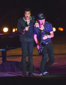 Lionel Richie in concert at the Baths of Caracalla in Rome