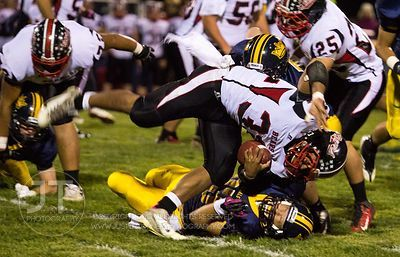 Iowa City Regina vs West Branch Football Playoffs, October 29, 2012