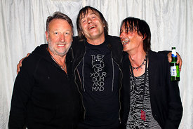 Peter Hook, Simon Finch, and David Donley