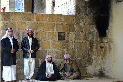 Lalish the holiest shrine in the Yazidi faith,